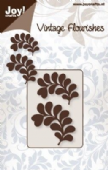 Joy Crafts Cutting & Embossing - Vintage Flourishes  – Leaves – 6003/0035